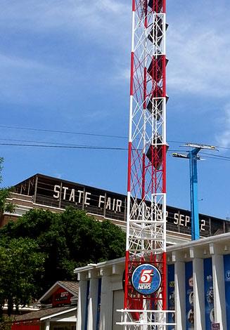 Kstp radio tower mn state fair st paul fresh paint kstp radio tower mn state fair st paul publicscrutiny Gallery