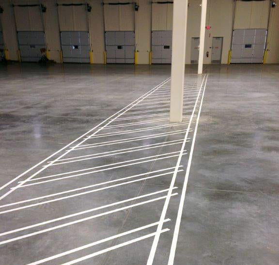 floor striping