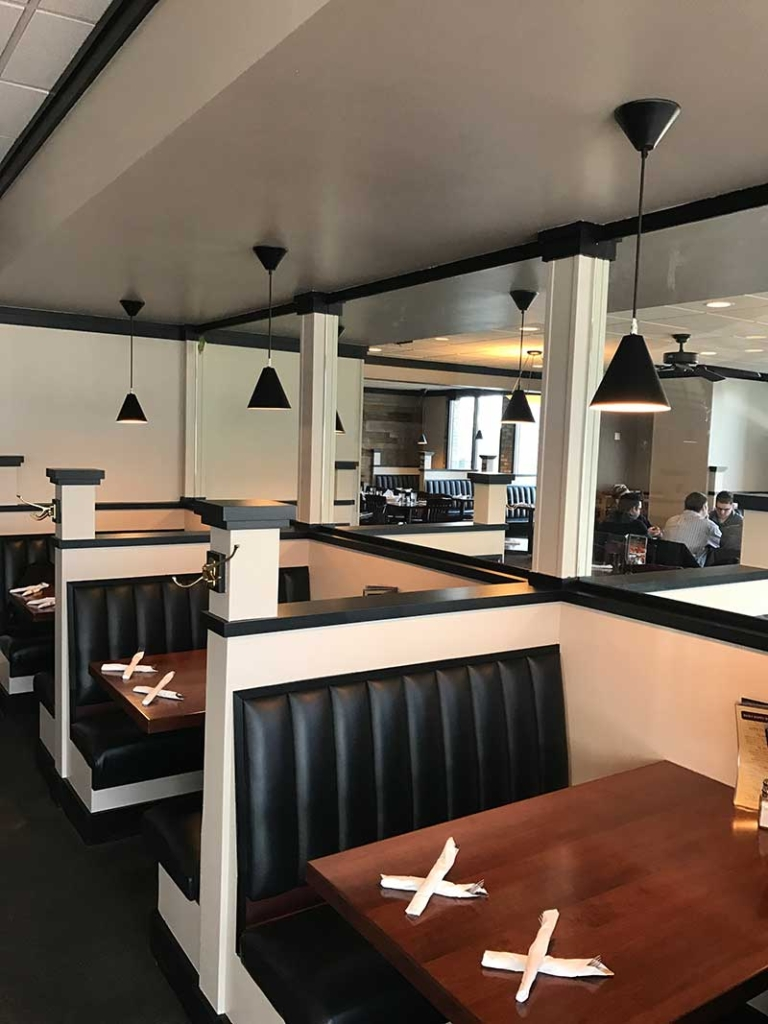 Interior restaurants painting service