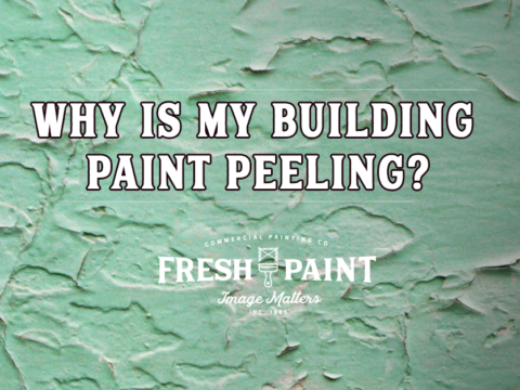 Why is my Building Paint Peeling