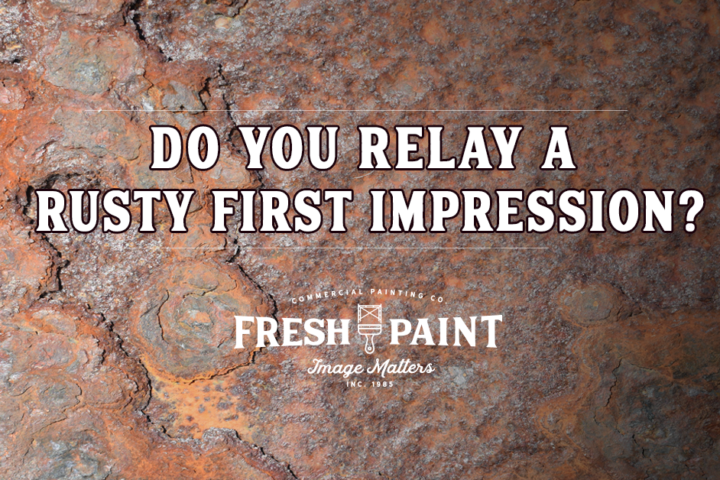 Do You Relay a Rusty First Impression?
