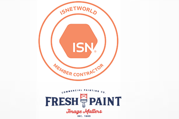 Fresh Paint is ISNetworld Member Contractor