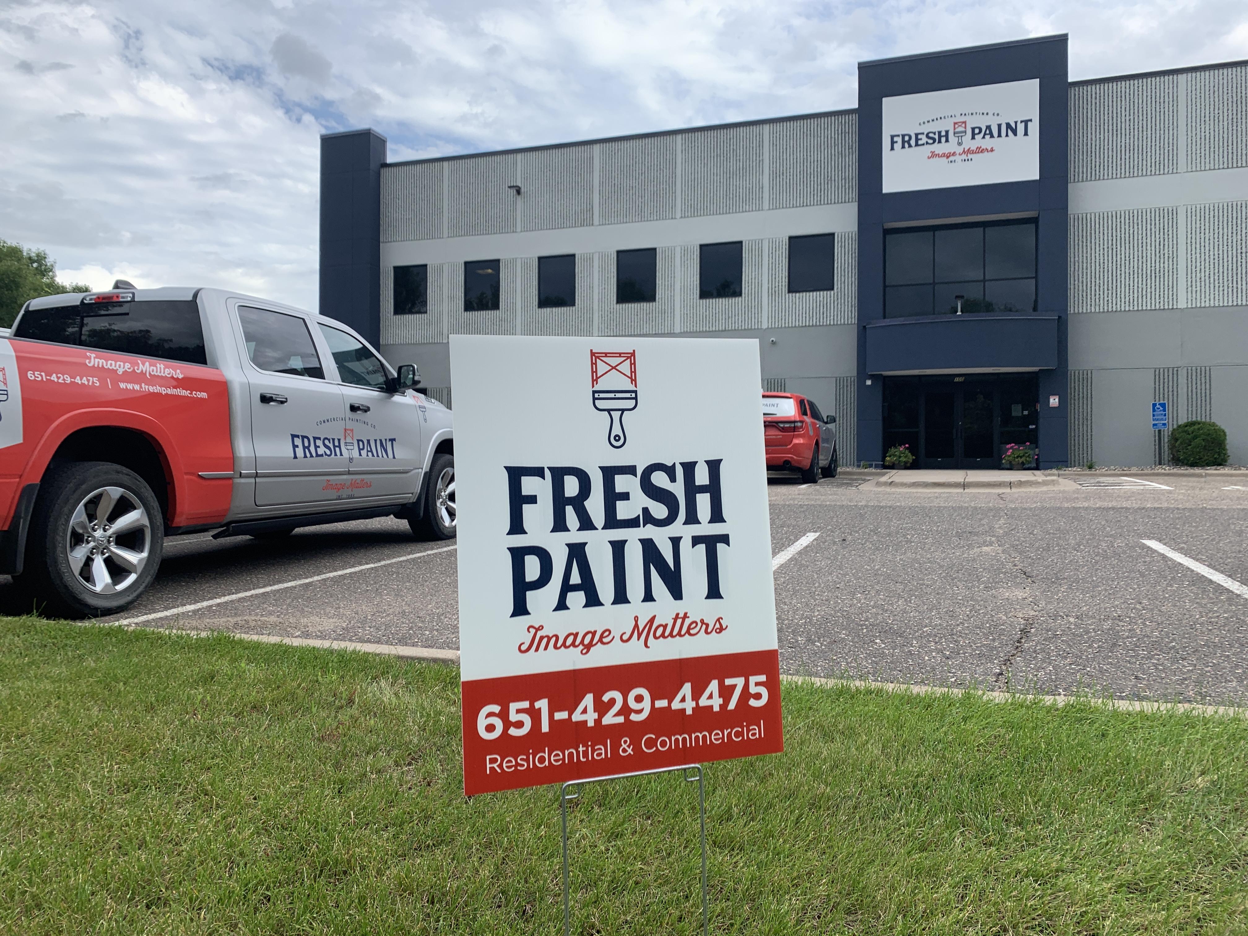 Big News at Fresh Paint